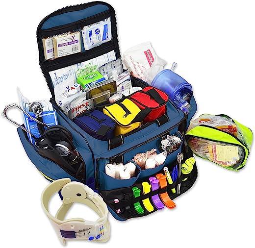 Lightning X Stocked X-Large Modular EMT Medic Trauma Bag w/Emergency Medical Fill Kit Supplies