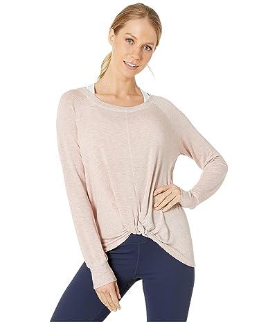 SUNDoWN by River+Sky Twist Sweatshirt (Pink Glow) Women