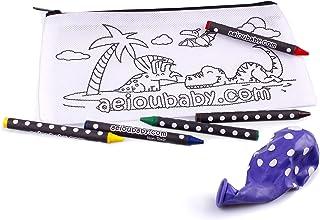 aeioubaby.com Paquete Colorear Non Woven (Estuche Dinos, 25)