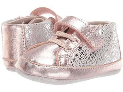 Robeez Clara First Kicks (Infant/Toddler) (Rose Gold) Girl