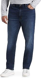 Amazon Essentials Men's Standard Big & Tall Tapered Stretch Jean Fit by DXL