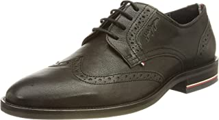 Tommy Hilfiger Herren Signature Hilfiger Brogue Shoe Sneaker