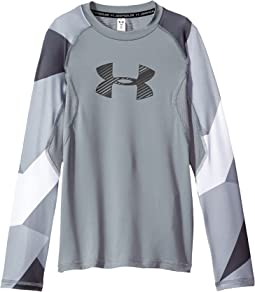 Under Armour Kids - Armour HeatGear® Novelty Long Sleeve (Big Kids)