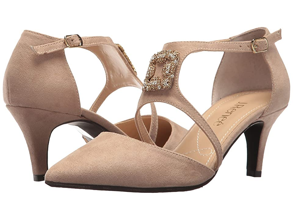J. Renee Halleigh (Dark Beige) High Heels