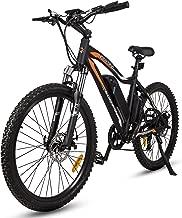 ECOTRIC Mountain EBike Electric Bicycle Black Bike 26