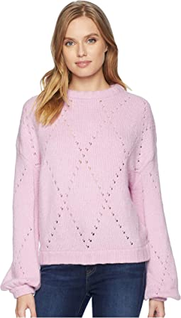 Mia Pointelle Sweater