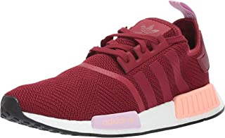 adidas Originals Women's NMD_r1, Burgundy/Burgundy/Clear Orange, 10 M US