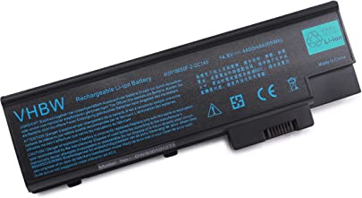 vhbw Li-Ion Akku 4400mAh 14 8V f r Notebook Laptop Acer Aspire 1410 1411 1411WLMi 1412 1412LC 1413 wie SQU-401 4UR18650F-1-QC192 u a Schätzpreis : 39,35 €