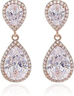 Best silver pear drop earrings Reviews
