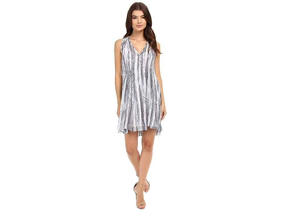 Shoshanna Ayanna Dress (Blue Multi) Women