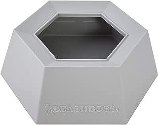 Leashboss Splashless Travel Dog Water Bowl - No Spill Portable Silicone Car Dish
