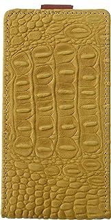 【Yoco Joy】 OPPO R15 Neo SIMフリー専用 本革 ケース スマホカバー 2つ折り 縦 オリジナル ブランド 通販 保護フィルム付き!縦型
