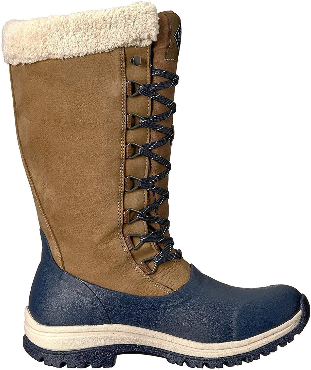Muck Boots Womens Ladies Arctic Apres Lace Tall Wellingtons