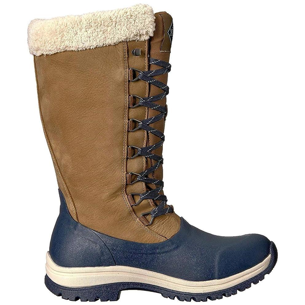 押し下げる日没手数料[Muck Boots] マックブーツ レディース Arctic Apres レースアップ トール ウェリントンブーツ 婦人靴 アウトドア ブーツ 女性用