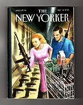 The New Yorker - December 14, 2015. Drooker Cover; San Bernardino Shootings; 'Freedom Caucus'; Ariel Levy Essay; Life-Canoeist Dick Conant; Drugs & Terrorism