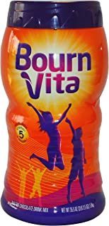 Kraft Bourn Vita Malted Chocolate Drink Mix, 35.5-Ounce Container