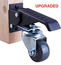 Best heavy duty tool box casters Reviews