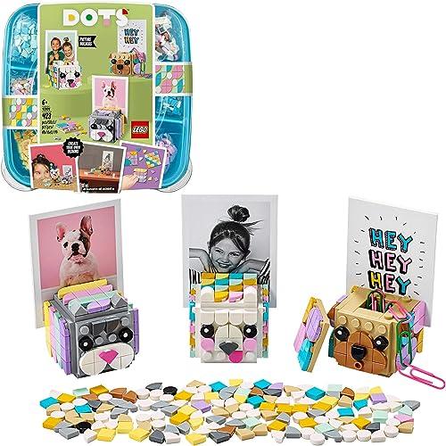 LEGO Dots 41904 LesCubes-PhotoAnimaux, Activité Manuelle, Déco Bureau, Loisirs Créatifs et Bricolage pour Enfant de...