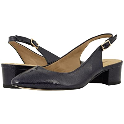 Walking Cradles Hazel (Navy Tumbled Patent) Women
