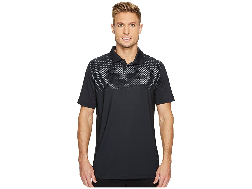 PUMA Golf Sportstyle Road Map Polo (Black) Men