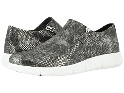Johnston & Murphy Tracy (Pewter Snake Print Suede) Women