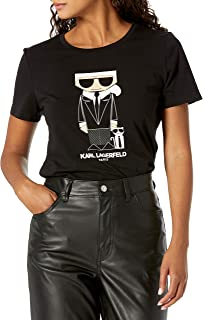 Karl Lagerfeld Paris Women's Karl & Choupette Doll Tee