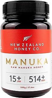 New Zealand Honey Co. Raw Manuka Honey UMF 15+ / MGO 514+ | 17.6oz / 500g