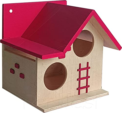 PetNest Bird House for Balcony and Garden Hanging for Love birds, Sparrow, Hummingbird, Kingfisher Birds Nest for Bal...