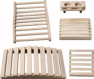 "Radiant Saunas SA5024 Deluxe Sauna Accessory Kit, 23.625"" x 11.75"" x 4.33"", Natural"