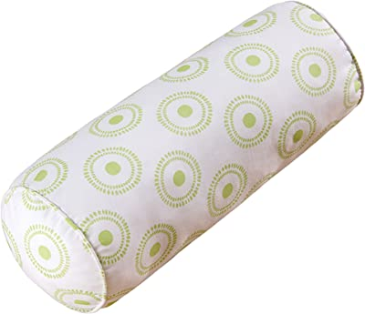 C&F Home Lilly Neckroll Pieced Pillow 8 x 20 Green