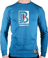 Monsta Clothing Co. Mens Brazilian Jiu-Jitsu (Sig-2) BJJ LNGSLV (A:WT/RD)