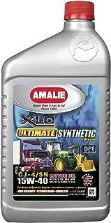 Amalie XLO 15W-40 Ultimate 12 Quart case