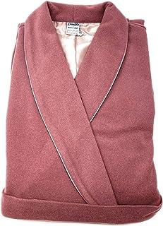 Vestaglia da Camera per Donna sciallata in Pura Lana Misto Cashmere Morbidissima e Calda Dueffe Art. Vittoria
