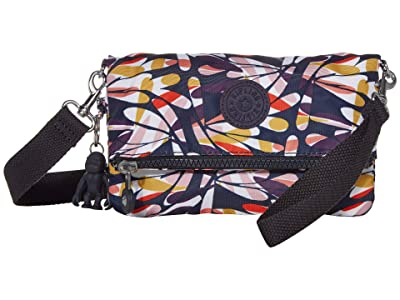 Kipling Lynne Convertible Crossbody Bag (Retro Floral) Handbags