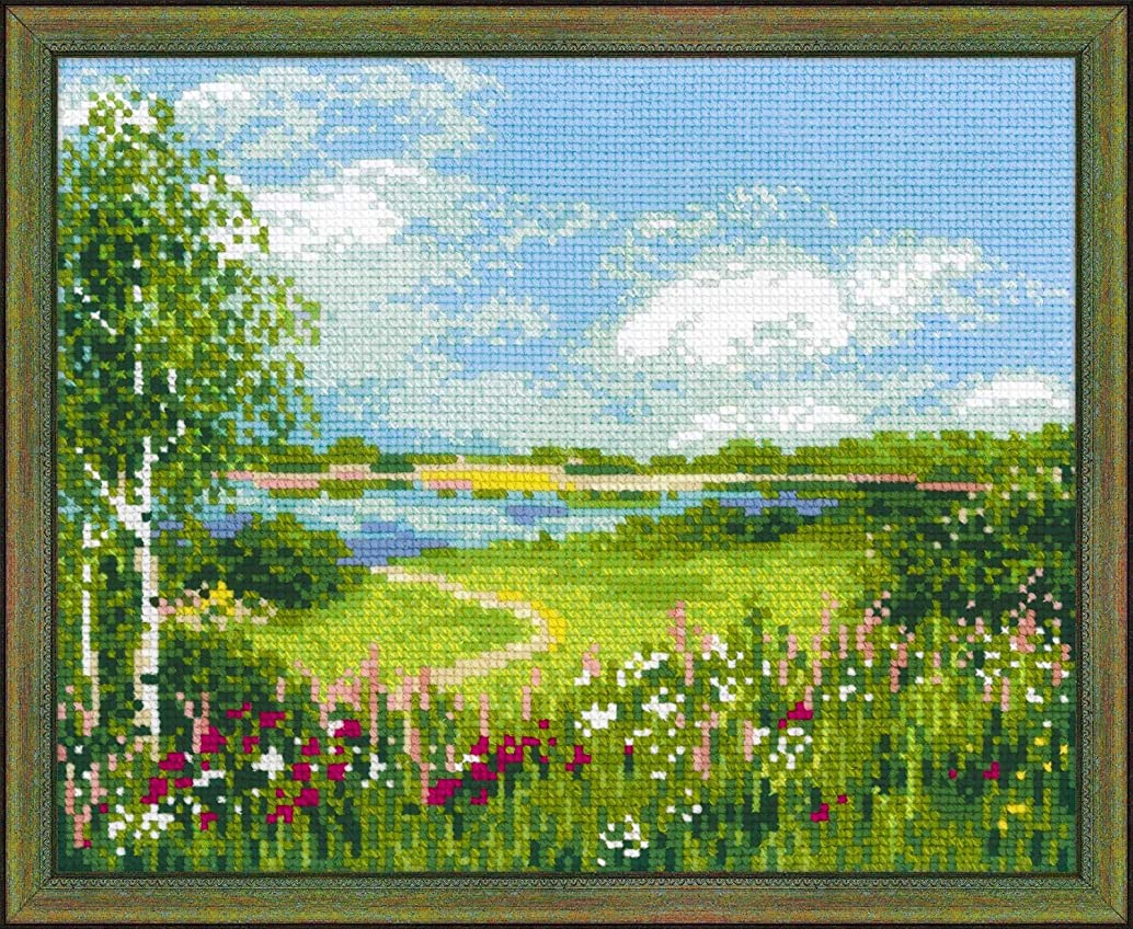 RIOLIS 1604 - Path to the Lake - Counted Cross Stitch Kit 11?