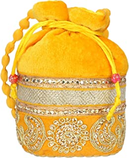 Indian Small & Cutest Velvet Potli Jwelery Pouch, Coins Pouch, Return Gift