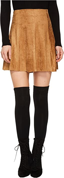 BB Dakota - Aileen Faux Suede Skirt
