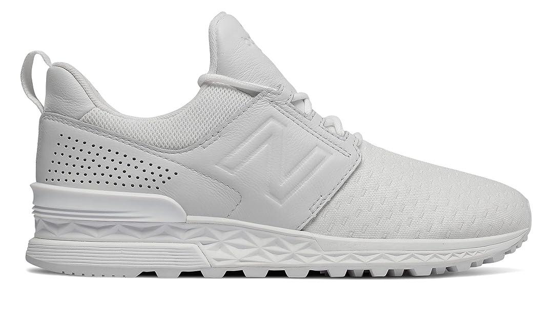 ツール絶望相互接続(ニューバランス) New Balance 靴?シューズ レディースライフスタイル 574 Sport Decon White ホワイト US 6 (23cm)