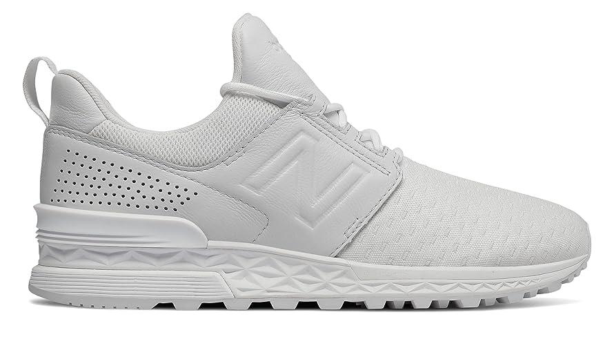 コットン踏みつけ間違えた(ニューバランス) New Balance 靴?シューズ レディースライフスタイル 574 Sport Decon White ホワイト US 7 (24cm)