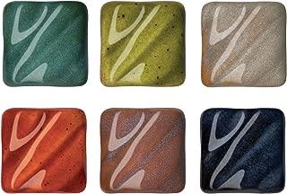 AMACO Potters Choice Lead-Free Non-Toxic Glaze Set, 1 pt, Assorted Color, Set of 6