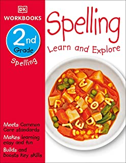 DK Workbooks: Spelling, Second Grade: Learn and Explore