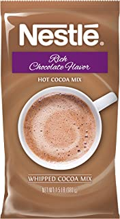 Nestle Hot Chocolate Mix, Hot Cocoa, Rich Chocolate Flavor Real Whipped Cocoa, 1.5 lb. Bulk Bag