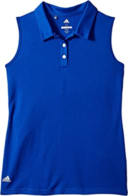 adidas Golf Kids Performance Sleeveless Polo (Big Kids)