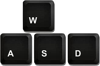 Computer Gamer Coaster - Computer Control W,A,S,D Keys - Neoprene 4 Piece Set