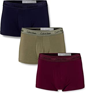 Calvin Klein Men's - 3 Pack Low Rise Trunks - Cotton Stretch