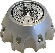 American Outlaw Wheels # BC-867 SILVER Custom Wheel Center Caps (QTY 1) NEW!
