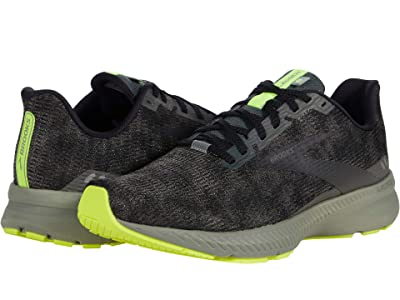 Brooks Launch 8 (Urban/Black/Nightlife) Men