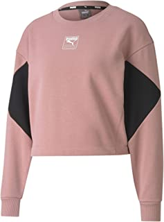 PUMA womens Rebel Crew FL Sweater