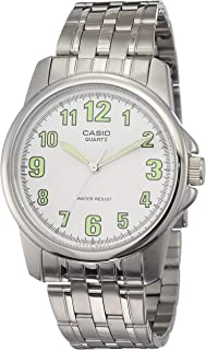 Casio Enticer Men's Stainless Steel Band Watch