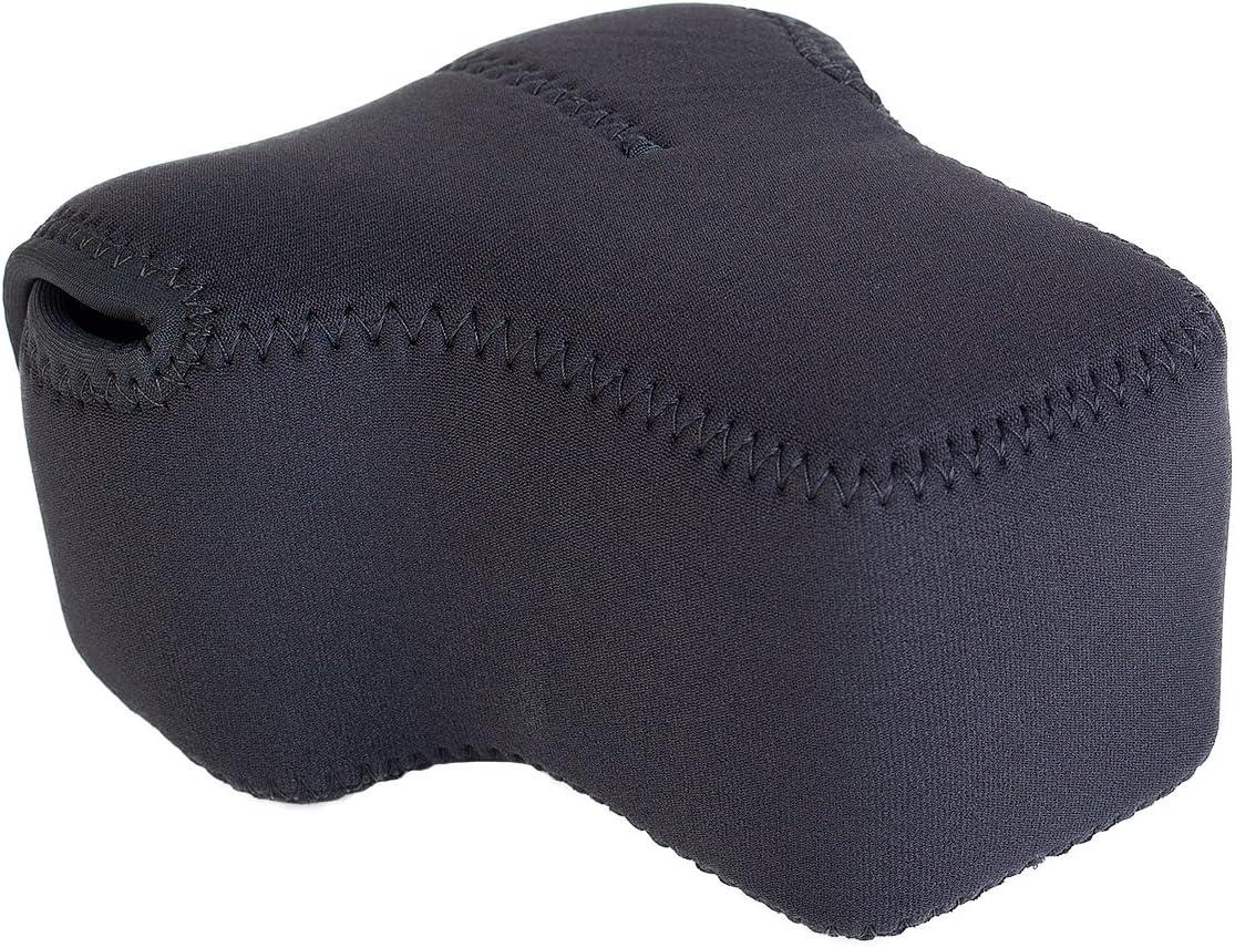 OP//TECH 7401104 D Series Pro Soft Pouch for Camera Black